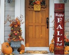 Reversible Give Thanks JOY Fall Thanksgiving Christmas Porch Sign Two Signs in One Hand Painted ~ Wood Fall Home Decor, Autumn Home, Fall Winter, Summer Fall, Spring, Welcome Wood Sign, Christmas Porch, Christmas Ideas, Pallet Christmas