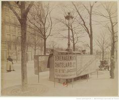 B.d [Boulevard] d'Italie 1898 : [vespasiennes] : [photographie] / [Atget]