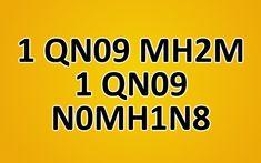 Can you decrypt hidden message (1 QN09 MH2M 1 QN09 N0MH1N8)?