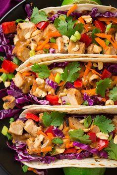 Asian Recipes, Mexican Food Recipes, Dinner Recipes, Healthy Recipes, Thai Recipes, Asian Foods, Fall Recipes, Healthy Eats, Holiday Recipes