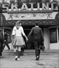 Skate Date,1950s New York