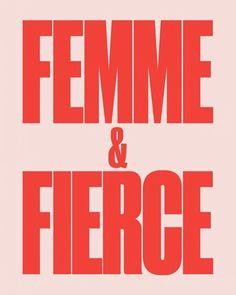 Femme & Fierce | Pin