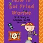 This book study and activities packet for How to Eat Fried Worms is sure to keep your students engaged in this award winning novel!