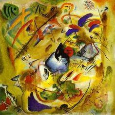 "Kandinsky, ""Improvisation Rêverie"", 1913, Munich, Stadtische Galerie in Lenbach, Germany"