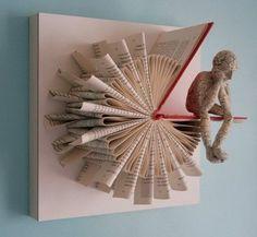 Книги как способ оживить интерьер 3