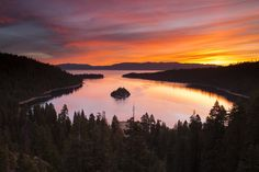 Sunrise at Emerald Bay - Lake Tahoe