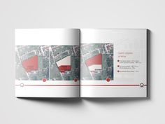 Publishing design. Industrial house and plot selling.