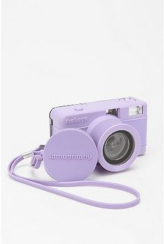 OBSESSED with this lavender Lomography fisheye camera :D