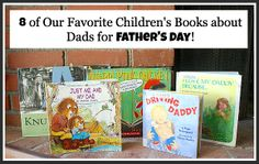 A collection of great children's books all about dads! {book set}