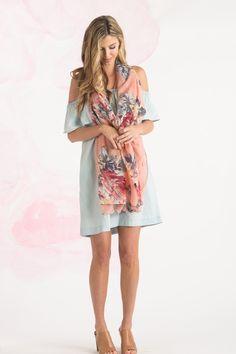 Cute Scarves for Women – Morning Lavender