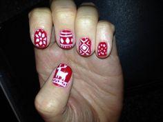 Sweater nail art, cute, xmas