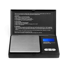 Ascher Elite Digital Pocket Scale 200 x 001g with Backlit LCD Display Mini Digital Weighing Scale 200g for Jewelry Coins Reload and Kitchen Scale