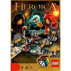 Lego Heroica Caverns of Nathuz game
