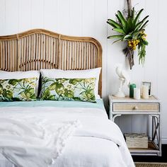 88 simple tropical caribbean bedroom decor ideas (85)