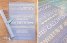 Pastel_Pattern-invitation-stationery-wedding by Oh Yay www.ohyay.co.za