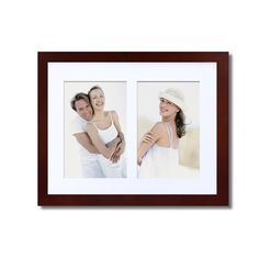 "Adeco 2-Opening Collage Picture Frame with Mat, 4x6"",  PF0282 #AdecoHomeGoods #CollagePictureFrame"