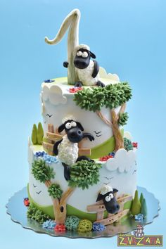 Shaun The Sheep Cake by Nasa Mala Zavrzlama