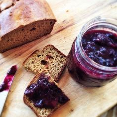 Honeyed Apricot Blueberry Jam | Hitchhiking to Heaven