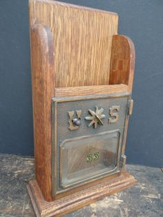 office door mail holder. Antique Post Office Box Door Made Into An Oak Mail Or Letter Holder I