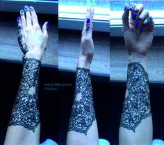 Мандала на моей руке тёмно-синей хной.  Даже вблизи выглядела как татуировка. Держалась 1 неделю. Мне понравился такой эффект.  Запись +7903 157 9191 sms/viber #мехенди #менди #хна #росписьхной #биотату #временноетату #henna #mehendi #mehendy #mehndi #mehndy #biotattoo #tattoo #мандала #mandala
