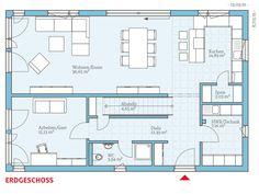 Hanse Haus Variant 25-192 Grundriss EG