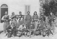 Yugoslav partisans during WWII.