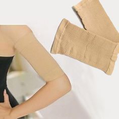 f545c20b88 Wear these compression arm bands any time to slim down your upper arms.  SIZING One size fits most. Approximate size  22-35 cm MATERIALS - Spandex -  Nylon