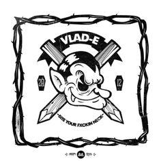VLAD-E / CREEPY † SQUAD by Gabo Romero, via Behance