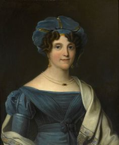 Lady Nicolls (1783–1844), Wife of Major General Sir Jasper Nicolls, KCB c.1828 by Noel Norton Carter