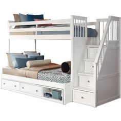 Flynn trundle bed with storage stairsFlynn Twin overThis excellent low bunk bed is certainly an inspiring and ideal idea .These excellent low bunk beds are certainly an inspiring and ideal idea lowbunkbedsStylish bunk bed plans
