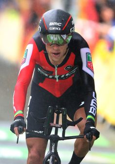 Richie Porte of Australia and BMC Racing Team crosses the finish line during stage one of Le Tour de France 2017, a 14km individual time trial on July 1, 2017 in Duesseldorf, Germany.