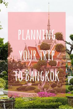 Use this Bangkok tra