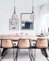 Dreamiest Scandinavian Dining Room Design Ideas (11)