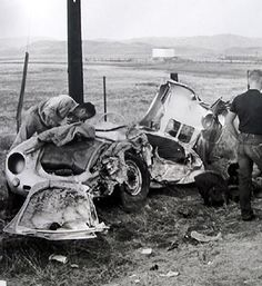 James Dean only had 3 credited roles before meeting his death on the California freeways. Dean was a lover of speed, and one afternoon he took his Porsche Spyder out in preparation for a race. It would be his last ride – coming around a curve on Route 466, he careened head-first into a 1950 Ford that had made a last-minute lane change. The Porsche flipped into a nearby gorge, breaking Dean's neck. Ironically, he had recently filmed a public service announcement about defensive highway…