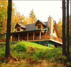 Awesome Choices to make your beautiful log cabin home in the woods or next to a river. A must-have to get away from our crazy crazy life.