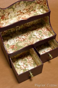 Desktop Organizer turned jewelry box