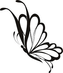 simple butterfly drawing - Google Search