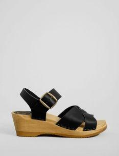 criss-cross mid wedge sandal.  #ss14 #shopbird15