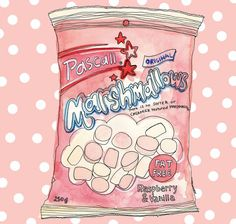 Marshmallow! by paper kites, via Flickr
