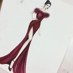 Embroidery Art Fashion Gowns 20 Ideas For 2019 Dress Design Sketches, Fashion Design Sketchbook, Fashion Design Drawings, Fashion Drawing Dresses, Fashion Illustration Dresses, Fashion Model Sketch, Fashion Sketches, Fashion Art, Fashion Models