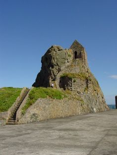Le Hermitage de St Helier, Elizabeth Castle, Jersey, Channel Islands Jersey Channel Islands, Norwegian Vikings, Pre Raphaelite Brotherhood, William The Conqueror, Old Norse, Brutalist, Normandy, British Isles, Monument Valley