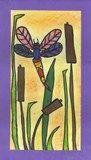 Artsonia Art Exhibit :: Dragonflies by the Pond  kindergarten