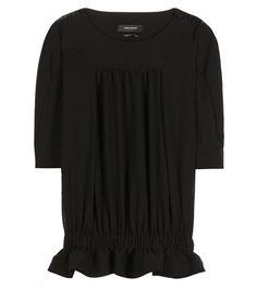 Isabel Marant Rayner Cotton Blouse For Spring-Summer 2017