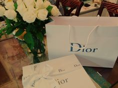 Dior bag box White