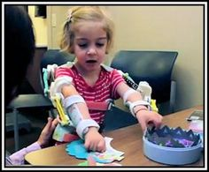 Magic Arms For Emma - the medical field is ripe for 3-D printing, here Emma shows us just what this innovative printer can do to change not only Emma, but her family and medical staff as well...