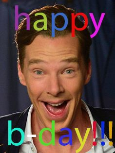 happy birthday benedict xD!!! >>> posted this a day late CUZ I COULDNT FIND IT! Anyway, HAPPY 41ST BIRTHDAY BENEDICT CUMBERBATCH!!