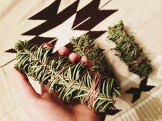 The Mama Earth Project: DIY: Smudge Sticks