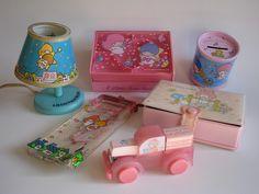 vintage Sanrio goodies Little Twin Stars My Melody Trinket World by Siri_Mae_doll, via Flickr