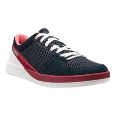 427bd7c9364 Women s Helly Hansen 5.5 M Sailing Shoe - Navy Plum Shell Pink White Silver  Grey Sneakers