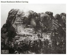 Mount Rushmore Before Carving - ICTMN.com